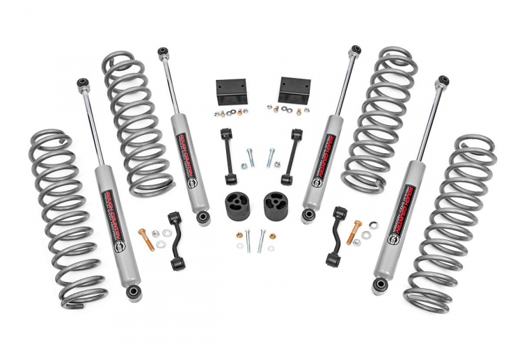 2.5IN JEEP SUSPENSION LIFT KIT | SPRINGS (18-19 WRANGLER JL)