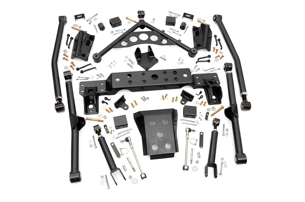 4IN JEEP LONG ARM UPGRADE KIT