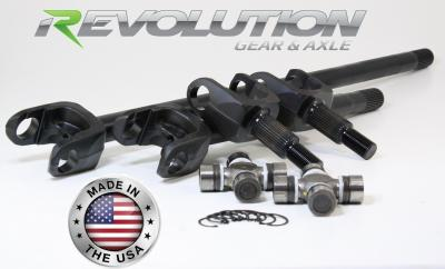 07-18 JK Sahara and X Model US Made D30 Front Axle Kit 30 Spline Upgrade