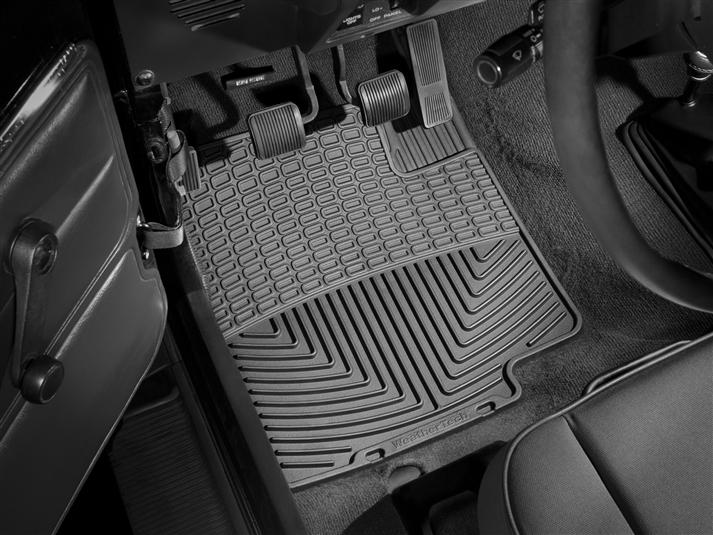 WeatherTech All Weather Floor Mats (1st Row, Driver&Passenger) 87-95 Jeep Wrangler YJ