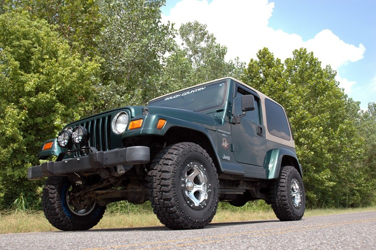 2.5IN JEEP SUSPENSION LIFT KIT | NO SHOCKS | 4CLY