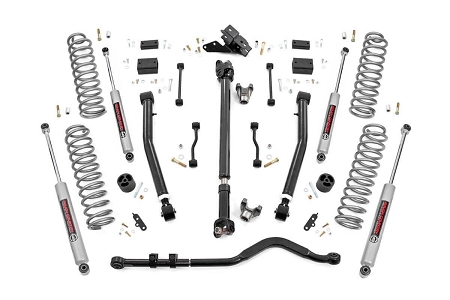 2.5IN JEEP SUSPENSION LIFT KIT | SPACERS (2018 WRANGLER JL) PREMIUM N3