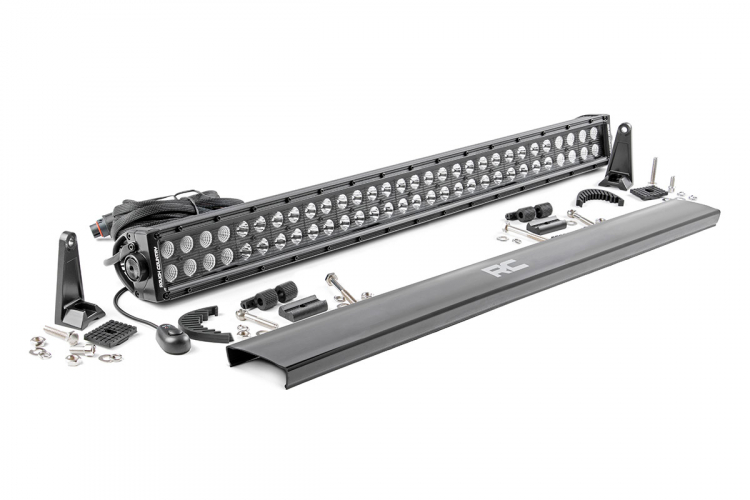 30-INCH CREE LED LIGHT BAR - (DUAL ROW | BLACK SERIES)