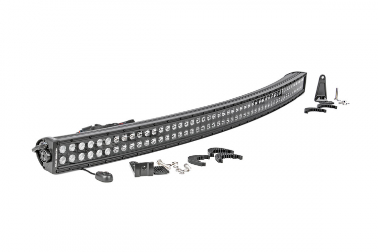 50-INCH CURVED CREE LED LIGHT BAR - (DUAL ROW | BLACK SERIES)