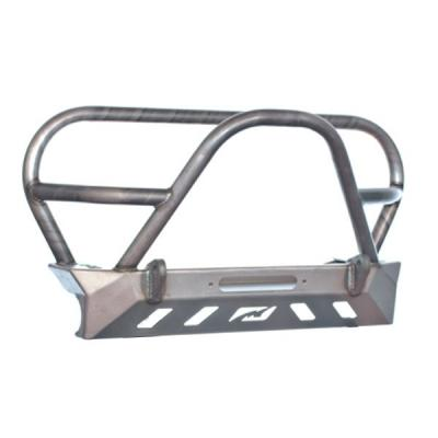 JEEP YJ TJ LJ FRONT BUMPER W/GRILL HOOP AND STINGER BARE STEEL
