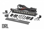 12-INCH CREE LED LIGHT BAR - (SINGLE ROW | BLACK SERIES W/ COOL WHITE DRL)