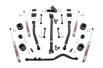 3.5IN JEEP SUSPENSION LIFT KIT | STAGE 2 SPACERS & ADJ. CONTROL ARMS (2018 WRANGLER JL)