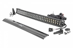 30-INCH CURVED CREE LED LIGHT BAR - (DUAL ROW | BLACK SERIES W/ AMBER DRL)