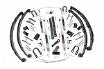 4.5IN JEEP X-SERIES SUSPENSION LIFT KIT (MILITARY WRAP SPRINGS)