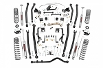 4IN JEEP LONG ARM SUSPENSION LIFT KIT (07-18 WRANGLER JK | 2-DOOR)