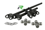 D44 4340 Chromoly Front Axle Kit 03-06 TJ Rubico Discovery Series Revolution Gear and Axle