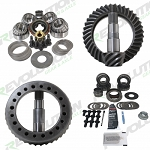 Jeep TJ Rubicon Gear Package 4.56-5.38 Ratio Front/Rear W/KOYO Master Overhaul Kits Comes W/Thick Gears