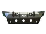JEEP JL/GLADIATOR FRONT BUMPER WITH SKID PLATE 18+ WRANGLER JL/GLADIATOR W/FOG LIGHT HOLES THE HAMMER SERIES