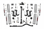 3.5IN JEEP SUSPENSION LIFT KIT | STAGE 2 | COILS & CONTROL ARM DROP (18-19 WRANGLER JL - 2 DOOR)