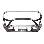 JEEP JK FRONT BUMPER W/STINGER AND GRILL HOOP 07-18 WRANGLER JK THE HAMMER SERIES BARE STEEL