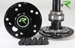 Jeep Rear Axle Kit Dana 44 03-06 Jeep TJ and LJ Rubicon and Non W/Disc Brakes 30 Spline