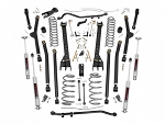 6IN JEEP LONG ARM SUSPENSION LIFT KIT (04-06 WRANGLER UNLIMITED TJ)