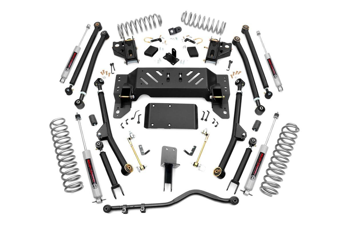 4IN JEEP LONG ARM SUSPENSION LIFT KIT (93-98 GRAND CHEROKEE ZJ)